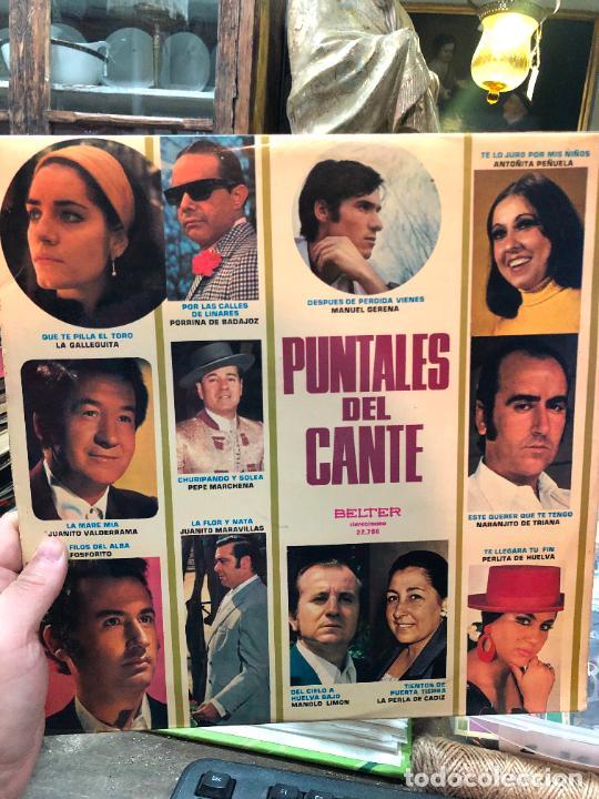 LP PUNTALES DEL CANTE (Música - Discos - LP Vinilo - Flamenco, Canción española y Cuplé)