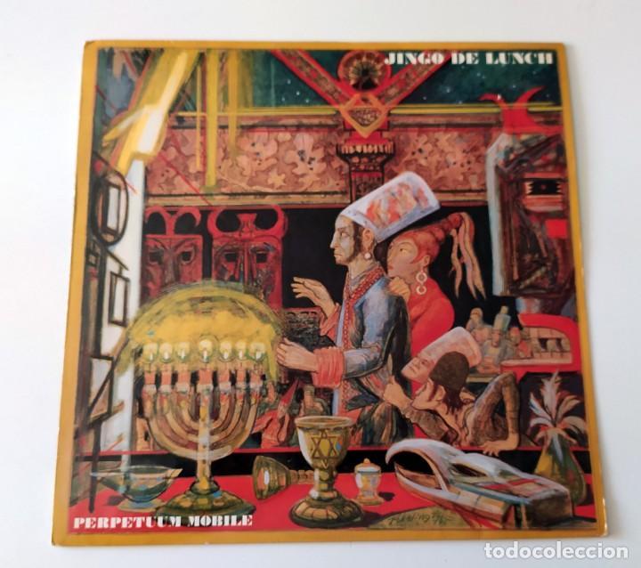 LP JINGO DE LUNCH - PERPETUUM MOBILE (Música - Discos - LP Vinilo - Heavy - Metal)