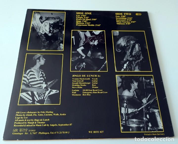 Discos de vinilo: LP JINGO DE LUNCH - PERPETUUM MOBILE - Foto 2 - 257666615