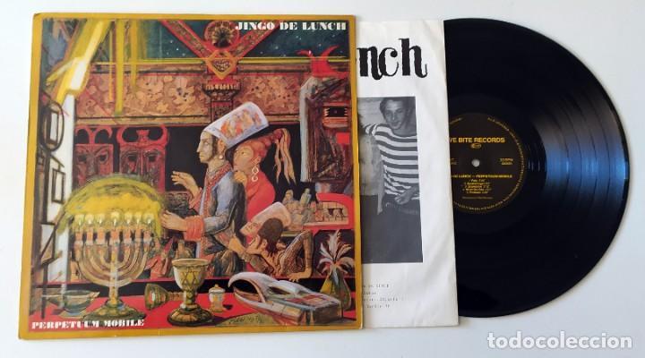 Discos de vinilo: LP JINGO DE LUNCH - PERPETUUM MOBILE - Foto 3 - 257666615