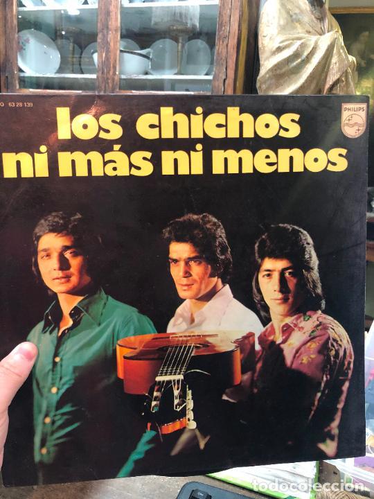 LP LOS CHICHOS - NI MAS NI MENOS (Música - Discos - LP Vinilo - Flamenco, Canción española y Cuplé)