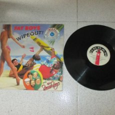 Discos de vinilo: FAT BOYS AND THE BEACH BOYS - WIPEOUT - MAXI - UK - URBAN - LV -. Lote 257668585