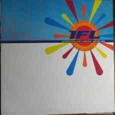 "Discos de vinilo: 12"" INTERNATIONAL FOOT LANGUAGE - LIFE ON LOOP - UNION CITY UCRT 19 - MAXI (EX+/EX+). Lote 257670695"