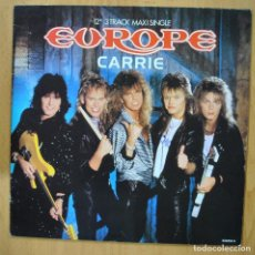 Discos de vinilo: EUROPE - CARRIE - MAXI. Lote 257672465