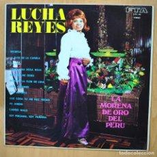 Discos de vinilo: LUCHA REYES - LA MORENA DE ORO DEL PERU - LP. Lote 257672525