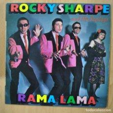 Discos de vinilo: ROCKY SHARPE AND THE REPLAYS - RAMA LAMA - LP. Lote 257672580