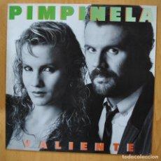 Discos de vinilo: PIMPINELA - VALIENTE - LP. Lote 257672765