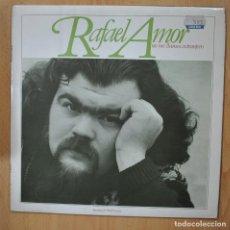 Discos de vinilo: RAFAEL AMOR - NO ME LLAMES EXTRANJERO - LP. Lote 257672975
