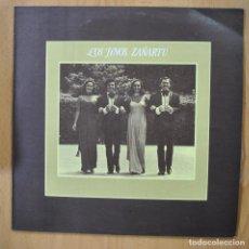 Discos de vinilo: LOS HERMANOS ZAÑARTU - LOS HERMANOS ZAÑARTU - LP. Lote 257673245