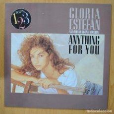 Discos de vinilo: GLORIA ESTEFAN - ANYTHING FOR YOU - LP. Lote 257673280