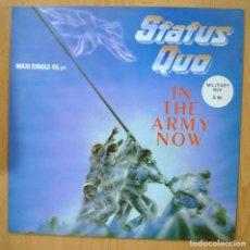 Discos de vinilo: STATUS QUO - IN THE ARMY NOW - MAXI. Lote 257673300