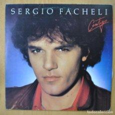 Discos de vinilo: SERGIO FACHELI - CONTIGO - LP. Lote 257674270