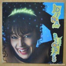 Discos de vinilo: DINA FLORES - CHOCOLATE - LP. Lote 257674415