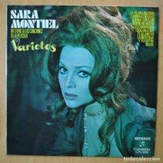 Discos de vinilo: SARA MONTIEL - VARIETES - LP. Lote 257674510