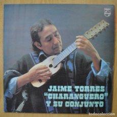 Discos de vinilo: JAIME TORRES Y SU CONJUNTO - CHARANGUERO - LP. Lote 257674870