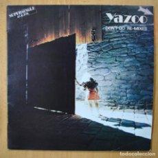 Discos de vinilo: YAZOO - DON´T GO - MAXI. Lote 257675085