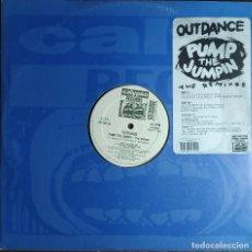"Discos de vinilo: 12"" OUTDANCE - PUMP THE JUMPIN' (THE REMIXES) CALYPSO CPS 032 - ITALY PRESS - MAXI (VG+/EX+). Lote 257681125"