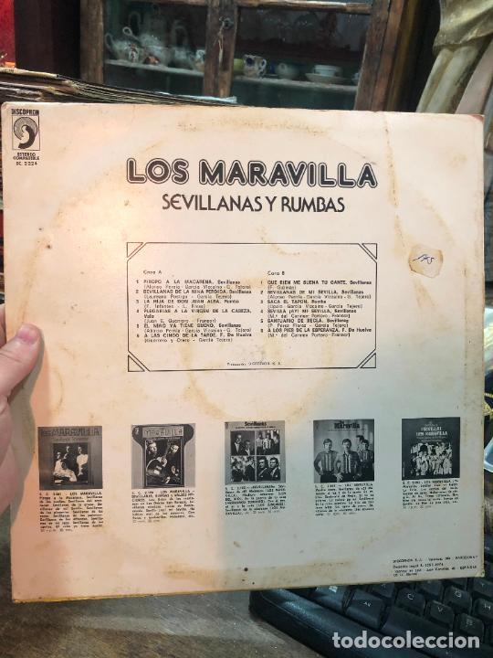 Discos de vinilo: LP LOS MARAVILLA - Foto 2 - 257682615