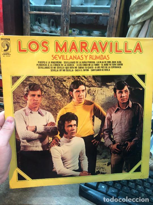 LP LOS MARAVILLA (Música - Discos - LP Vinilo - Flamenco, Canción española y Cuplé)