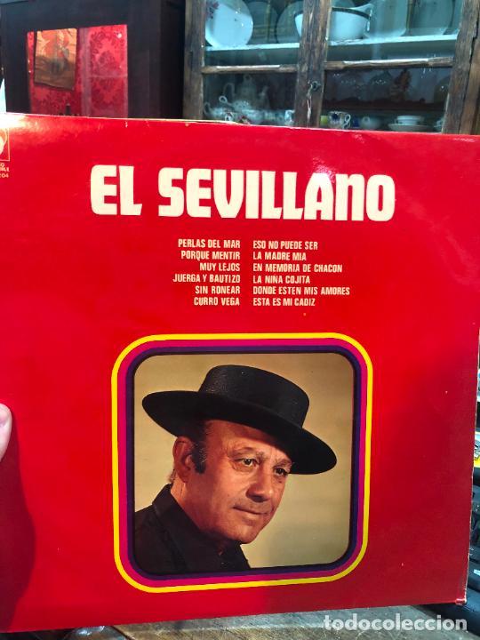 LP EL SEVILLANO (Música - Discos - LP Vinilo - Flamenco, Canción española y Cuplé)
