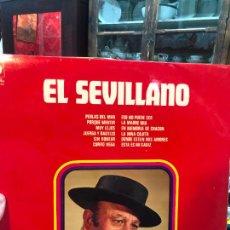 Discos de vinilo: LP EL SEVILLANO. Lote 257682745