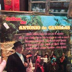 Discos de vinilo: LP EXITOS DE ANTONIO DE CANILLAS. Lote 257683015