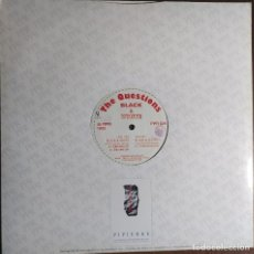 "Discos de vinilo: 12"" THE QUESTIONS - BLACK & WHITE - PARADISE PROJECT PPR 029 - ITALY PRESS - MAXI (EX+/EX+). Lote 257685735"