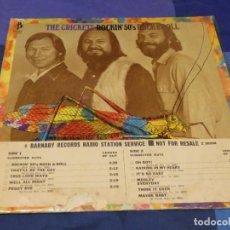 Discos de vinilo: LP USA 1972 THE CRICKETS ROCKING 50S ROCK AND ROLL VINILO BIEN C/PORTADA FEOTA PROMO. Lote 257688695