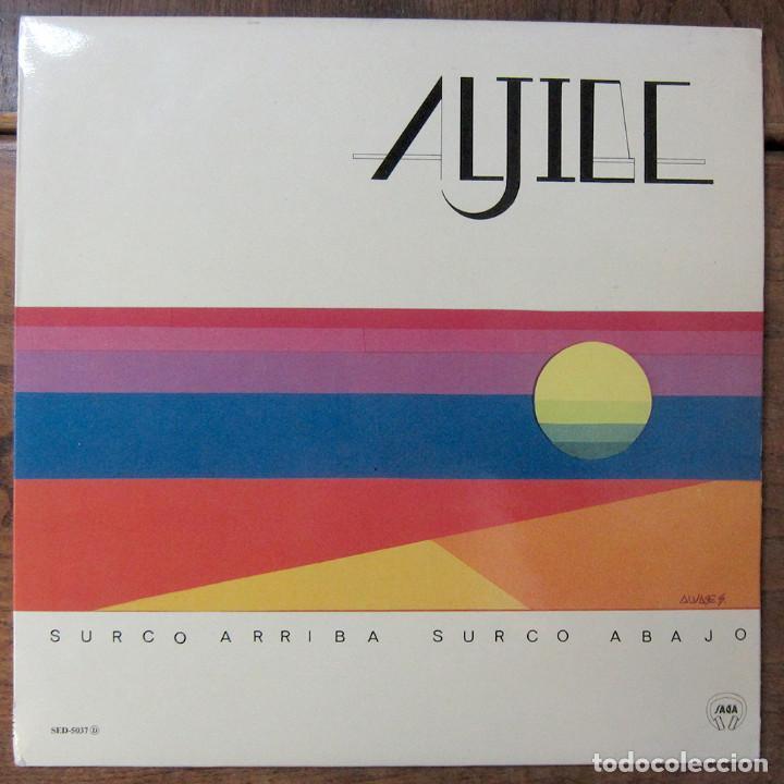 ALJIBE - SURCO ARRIBA, SURCO ABAJO - 1987 - TRADICIONAL, FOLK, LA MANCHA (Música - Discos - LP Vinilo - Country y Folk)