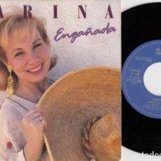 Dischi in vinile: KARINA - ENGAÑADA / GRITENME PIEDRAS DEL CAMPO - SINGLE DE VINILO PROMOCIONAL #. Lote 257701060