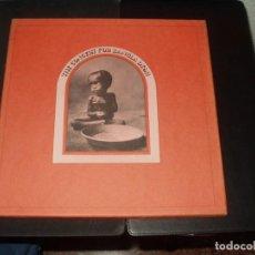 Dischi in vinile: CAJA 3 LPS + LIBRO CONCIERTO POR BANGLA DESH GEORGE HARRISON. Lote 257701240