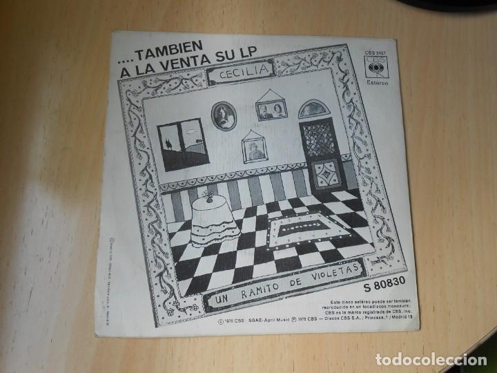 Discos de vinilo: CECILIA, SG, MI QUERIDA ESPAÑA + 1 , AÑO 1975 - Foto 2 - 257702105