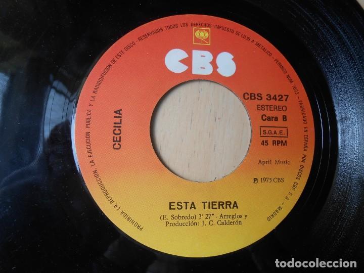 Discos de vinilo: CECILIA, SG, MI QUERIDA ESPAÑA + 1 , AÑO 1975 - Foto 4 - 257702105