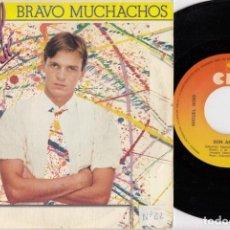 Discos de vinilo: MIGUEL BOSE - BRAVO MUCHACHOS - SINGLE DE VINILO #. Lote 257702255