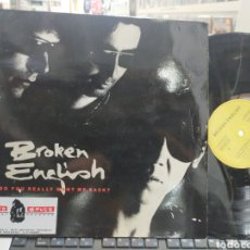 Dischi in vinile: BROKEN ENGLISH MAXI DO YOU REALLY WANT ME BACK? ESPAÑA 1992. Lote 257704840