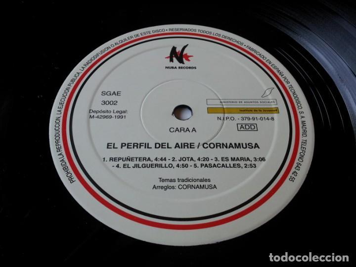 Discos de vinilo: Cornamusa - el perfil del aire - lp original nuba records año 1991 - folk aragones - Foto 5 - 257708065
