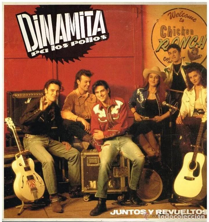 DINAMITA PA LOS POLLOS * JUNTOS Y REVUELTOS * LP * NUEVO (Música - Discos - LP Vinilo - Grupos Españoles de los 70 y 80)