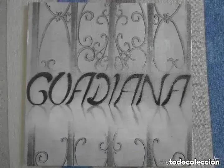 GUADIANA - GUADIANA (LP) 1988 FONORUZ (Música - Discos - LP Vinilo - Flamenco, Canción española y Cuplé)