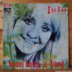 Discos de vinilo: LP ALBUM , LULU , BOOM BANG. Lote 257713495