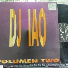 Discos de vinilo: DJ IAO MAXI VOLUMEN TWO 1995. Lote 257714100