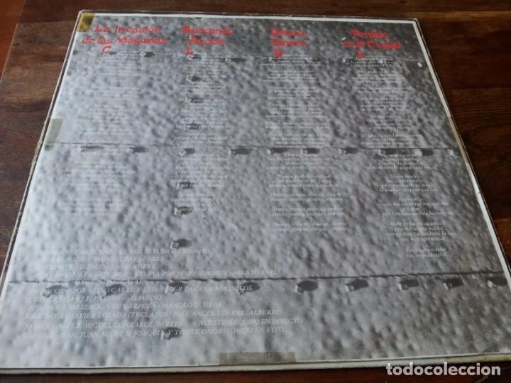 Discos de vinilo: Obus - Poderoso como un trueno - lp original chapadiscos año 1982 con encarte y letras - Foto 3 - 257715395