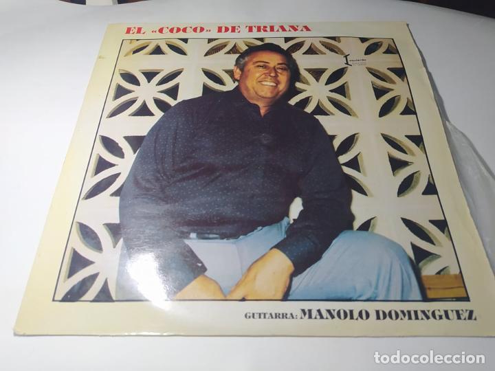 """LP - EL """" COCO """" DE TRIANA - MANOLO DOMINGUEZ - RI- 2052 ( VG+ / VG+ ) SPAIN ? ( MUY RARO RARO ) (Música - Discos - LP Vinilo - Flamenco, Canción española y Cuplé)"""