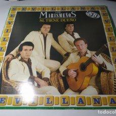 Discos de vinilo: LP - LOS MARISMEÑOS – SÍ, TIENE DUEÑO - 7901621 ( VG+ / VG+ ) SPAIN 1988. Lote 257716235