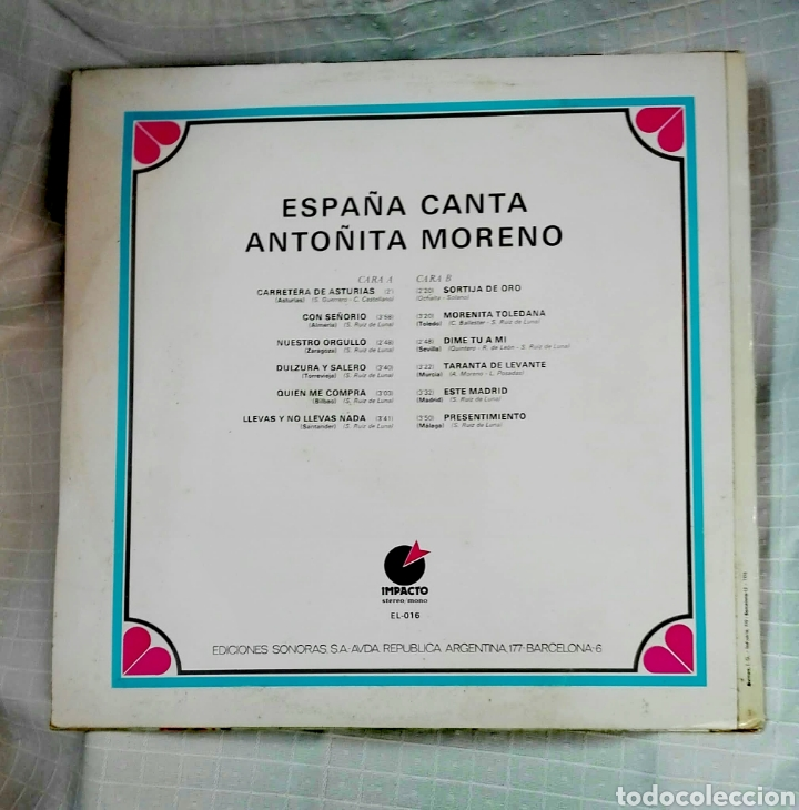 Discos de vinilo: VINILO ESPAÑA CANTA - Foto 2 - 257716300