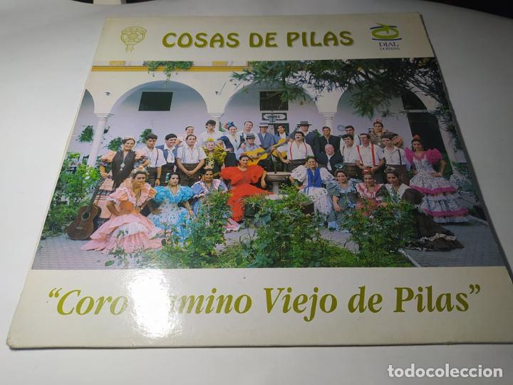 LP - CORO CAMINO VIEJO - COSAS DE PILAS - MSD -1115 ( VG+ / VG+ ) SPAIN 1993 ( UNICO Y MUY RARO!) (Música - Discos - LP Vinilo - Flamenco, Canción española y Cuplé)