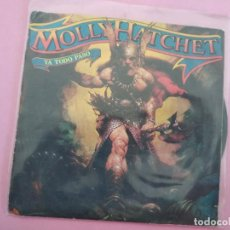 Discos de vinilo: MOLLY HATCHET. GOOD ROCKIN'. YA TODO PASÓ. Lote 257717760
