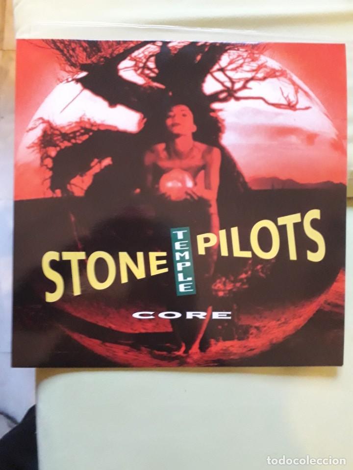 STONE TEMPLE PILOTS-OJO EDICION 1992 -ALBUM, CLEAR(MUY MUY RARA )-HARD ROCK, GRUNGE- (Música - Discos - LP Vinilo - Heavy - Metal)
