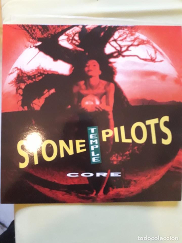Discos de vinilo: STONE TEMPLE PILOTS-OJO edicion 1992 -Album, Clear(MUY MUY RARA )-Hard Rock, Grunge- - Foto 2 - 257720995