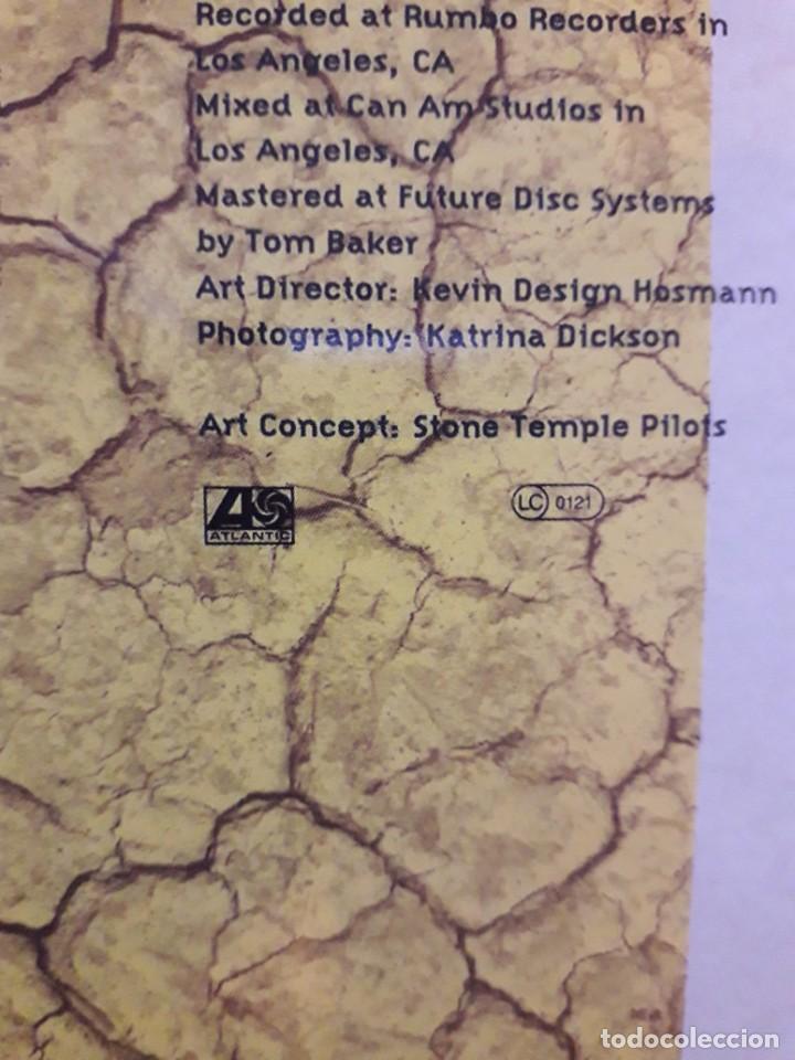 Discos de vinilo: STONE TEMPLE PILOTS-OJO edicion 1992 -Album, Clear(MUY MUY RARA )-Hard Rock, Grunge- - Foto 5 - 257720995