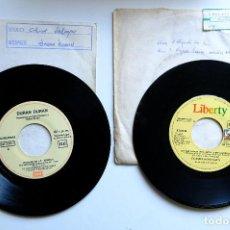 Discos de vinilo: DURAN DURAN - THE WILD BOYS + CLASSIX NOUVEAUX - NEVER AGAIN -SINGLE EN VINILO. Lote 257722075
